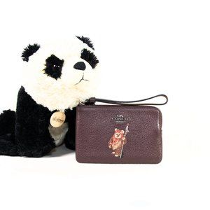 New Star Wars x Coach 'Ewok' wristlet